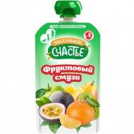 Смузи «Маленькое счастье» фруктовый микс, 110 г.