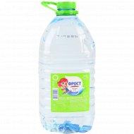 Питьевая вода «Фрост» Classic негазированная, 5 л.