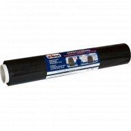 Пленка стрейч«Unibob» чёрная, 450мм х 100м, 23 мкм.