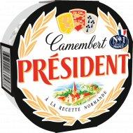 Сыр мягкий «Камамбер President» с белой плесенью, 45%, 125г.