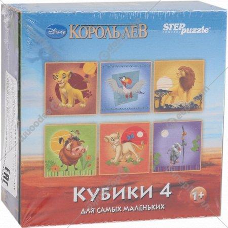 Кубики «Король лев» 4 шт.