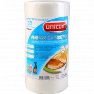 Салфетка «Unicum» 60 л/рул, 24х30, 1/12.