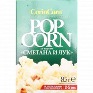 Попкорн для СВЧ «CorinCorn» сметана и лук, 85 г.