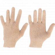 Перчатки вязаные 7,5 класс белые.