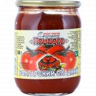 Продукт томатный «Синьор Помидор» болгарский сладкий, 500 г.