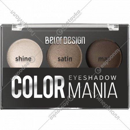 Тени для век «Smart girl» Color Mania, тон 34, 5 г.