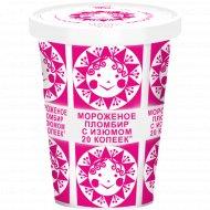 Мороженое пломбир «20 копеек» ванильное с изюмом, 225 г