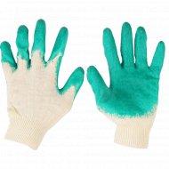 Перчатки вязаные с 1-слойным латексным покрытием 10 класс.