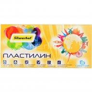 Пластилин «Солнечная коллекция» 6 цветов.