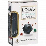 Мыло туалетное «Lole's» активированный уголь, 150 г.