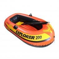 Лодка надувная двухместная «Intex» Explorer 200, 185x94см.