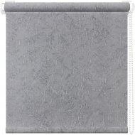 Рулонная штора «АС Март» Крисп, серый, 140х175 см