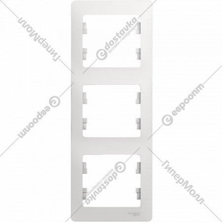 3-постовая рамка «Glossa» вертикальная, GSL000107.