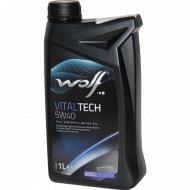 Масло моторное «Wolf» VitalTech, 1 л.