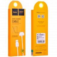 Дата-кабель «Hoco» X1 iPhone 30 Pin 1.0 м.