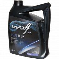 Масло моторное «Wolf» VitalTech, 5 л.
