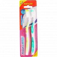 Зубная щетка «Fresh&White» FW3842, мягкая.