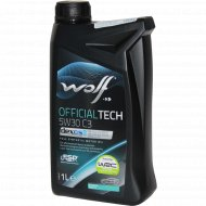 Масло моторное «Wolf» OfficialTech, 1 л.