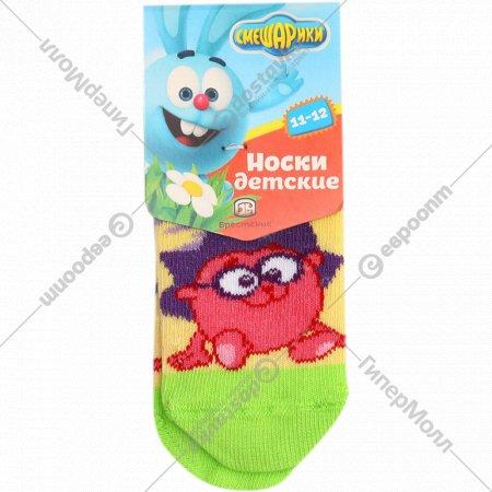 Носки детские «Смешарики» размер 11-12.