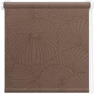 Рулонная штора «АС Март» Тати, коричневый, 85х175 см