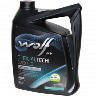 Масло моторное «Wolf» OfficialTech, 5 л.