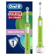 Детская электрическая зубная щетка «Oral-B» junior 6+.