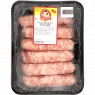 Колбаски сырые из мяса свинины «Свислочские» охлажденные, 1 кг.