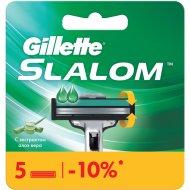 Сменные кассеты «Gillette» Slalom, 5 шт.
