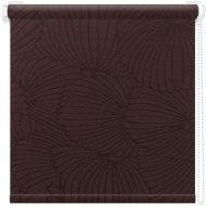 Рулонная штора «АС Март» Тати, шоколад, 48х175 см