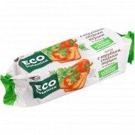 Крекер «Eco botanica» с отрубями, сладким перцем и зеленью, 200 г.