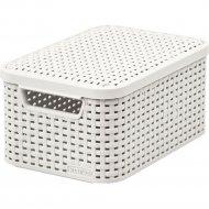 Корзина «Curver» style box s v2 lid, 205840, 291x198x142 мм.