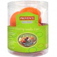 Набор свечей «Provence» 560115/37, оранжевый, 4.3 см, 8 штук