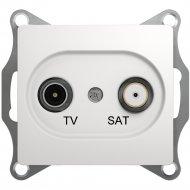 Розетка TV-SAT «Glossa» оконечная 1DB, механизм, GSL000297.