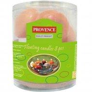 Набор свечей «Provence» 560115/32, розовый, 4.3 см, 8 штук