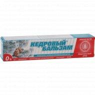 Зубная паста «Кедровый бальзам» комплексный уход, 100 г.