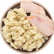 Картофельное пюре с куриным филе, охлажденное, 266.7 г