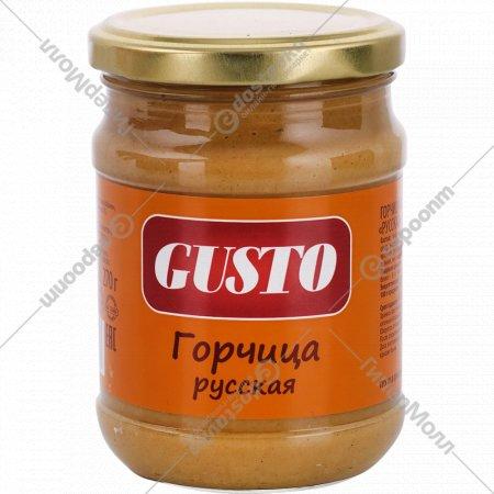 Горчица «Gusto» русская, 270 г