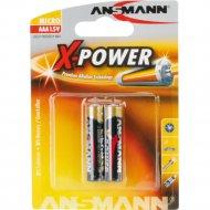 Батарейка «Ansmann Alkaline Xpower»-1.5V AAA-bl2.