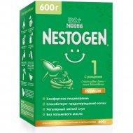 Смесь «Nestogen 1» омега-3 с рождения, молочная, 600 г.