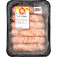 Колбаски сырые из мяса птицы «Деревенские» охлажденные, 1 кг., фасовка 0.8-1.1 кг