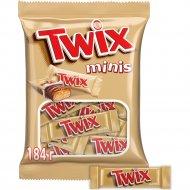 Печенье «Twix» minis песочное с карамелью, 184 г.