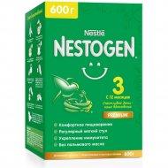 Молочко «NESTOGEN 3» для комфортного пищеварения, с 12 месяцев, 600 г.