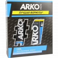 Подарочный набор для бритья «Arko» Men Cool, 350 мл.