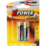 Элементы питания «Ansmann» Mignon AA, X-Power, 2 шт.