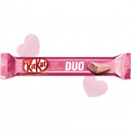 Шоколад «Kit Kat» со вкусом клубники и хрустящей вафлей, 58 г