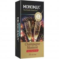 Чай смесь черного и зеленого «Мономах» Champagne Moment, 20 пакетиков.