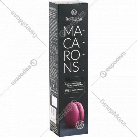 Пирожные «Макарон» с начинкой чёрная смородина, 4 шт, 68 г.