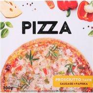 Пицца «Prosciutto» колбаса и паприка, замороженная, 300 г