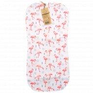 Пеленка-кокон «Фламинго».