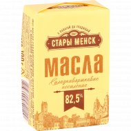 Масло сладкосливочное «Стары Менск» 82.5 %, 100 г.